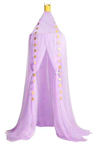 Wenyujh Mosquito Net Canopy, Dome Princess Bed Canopy Kids Play Tent Mosquito Net Children