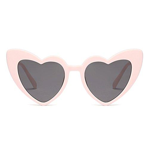 C3 de mujer corazón juqilu vintage para para el para Gafas forma Gafas corazón de en sol fiesta Gafas qTHC8xnH