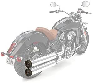 Indian Motorcycle Exhaust End Caps 2881184-687 Pair
