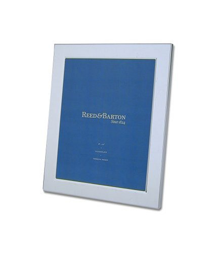 Reed & Barton Classic Channel 8-by-10-Inch Silver-Plated Picture Frame