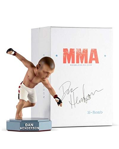 (UFC Bobblehead Limited Dan Henderson - MMA UFC Action Figures Fight Night Sports Memorabilia , Handmade, Hand Painted, Limited, Numbered)