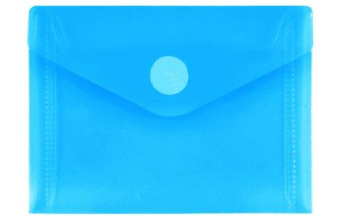 PP de sobres a7quer, Azul Transparente, 10unidades)