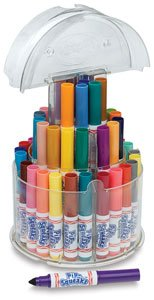 Crayola 588750 Pip-Squeaks Telescoping Marker Tower, Assorted Colors (Set of (Pipsqueaks Washable Markers)