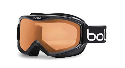 Bolle Mojo Snow Goggles (Shiny Black, Citrus) (Renewed)