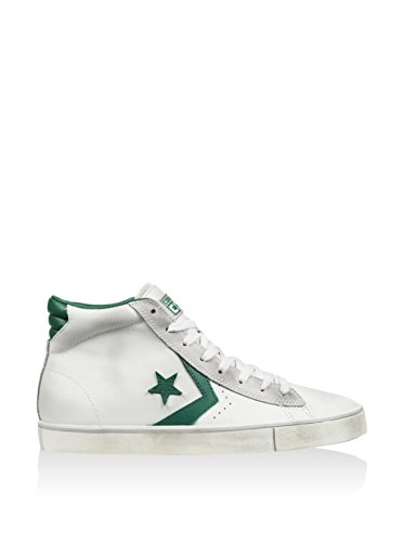 Bianco Sneaker Uomo Leather Alte Verde Vulc Converse PRO BYwSFnqxR