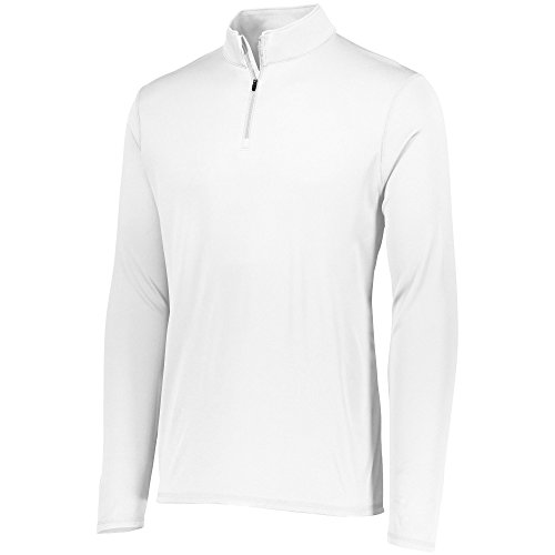 Augusta Sportswear Men's Attain 1/4 Zip Pullover L White
