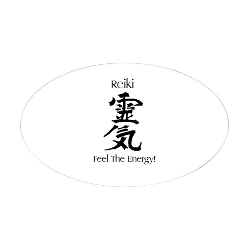 Cafepress reiki oval sticker oval bumper sticker euro oval car decal