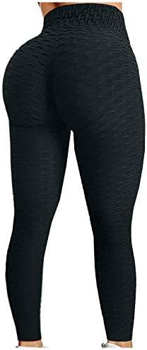 Women's Yoga Pants with Pockets High Waisted Leggings for Women Workout Leggings Track Pants Biker Shorts