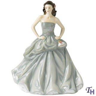 Doulton Figurine Birthday Royal (Royal Doulton 2013 Pretty Ladies Happy Birthday Figurine)