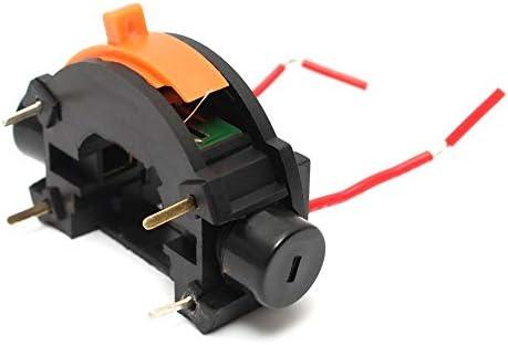 Queenwind の可変的な速度のオフスイッチドレメル回転式用具の押しボタンスイッチ