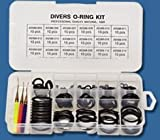 Innovative 200 pieces O-Ring Kit with 3 Assorted Brass Picks