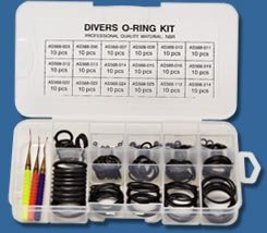 Innovative 200 pieces O-Ring Kit with 3 Assorted Brass Picks ()