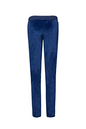 (XMMORNING Women Velour Pants,Velvet Pants for Women,Women Basic Blue Sweat Pants, Women Vleour Velvet Tracksuit)