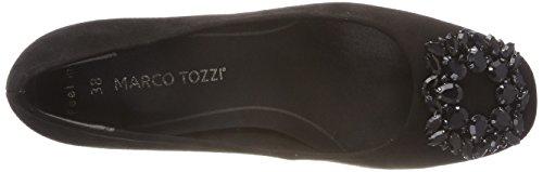 Con 2 001 Tacco 2 Tozzi Nero 22443 Scarpe 31 black Marco Donna 001 X0E1Un