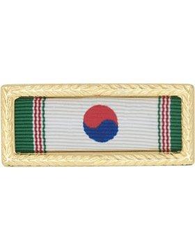 R-U108, Korean Presidential Army Unit Citation, Ribbon & Frame RIBBONS & MOUNTS