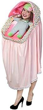 DISBACANAL Disfraz Carrito de bebé para Adulto: Amazon.es ...