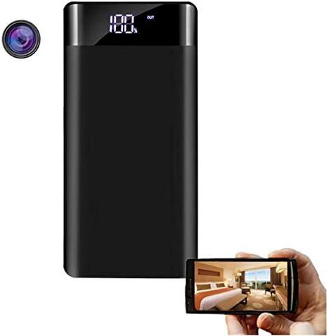 Verborgen cameras kleine wifipowerbank Verborgen camera met 20000 mAh nachtzicht Draadloze mini Ip P2p Spy Powerbankcamera met lange opnametijd