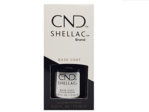 Creative Nail Shellac, UV Base Coat, 0.25 Fluid Ounce ()