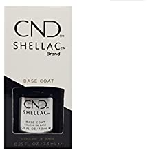 Creative Nail Shellac, UV Base Coat, 0.25 Fluid Ounce