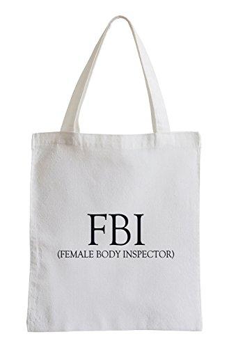 F.B.I. - Female Body Inspector Jutebeutel
