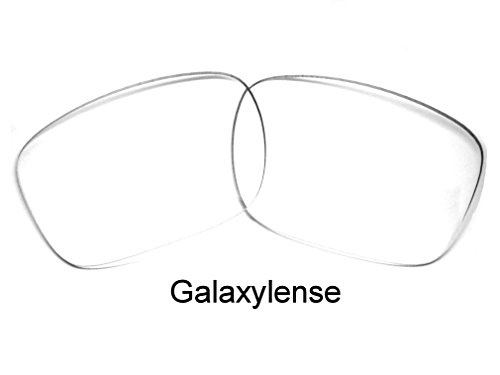 Galaxy Replacement Lenses for Oakley Holbrook Crystal Clear 100% - Clear Lenses Holbrook
