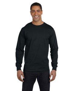 Gildan Adult Ultra Blend Long-Sleeve T-Shirt - Black, XL