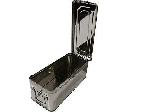 Prime Metals Stainless Steel Long Locker Box- Silver