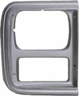 - QP C0781-a Chevy Van Silver Passenger Headlight Door Grille