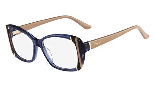 Eyeglasses FERRAGAMO SF 2682 424 CRYSTAL BLUE