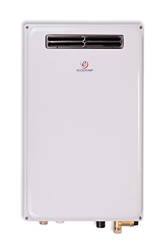 - Eccotemp 45H-NG Outdoor 6.8 GPM Natural Gas Tankless Water Heater, White
