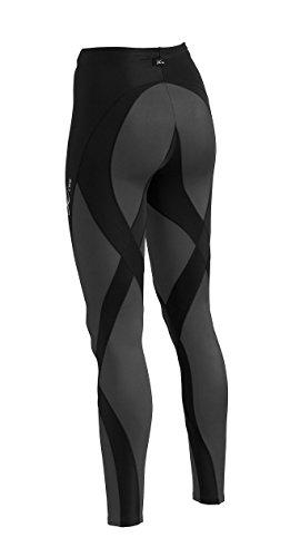 CW-X Women's Pro Running Tights,Black,Medium by CW-X (Image #3)
