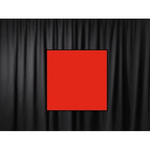 12 Ft. High x 5 Ft. Wide Premier Drape Panel (For Pipe and Drape Displays and Backdrops) - Red