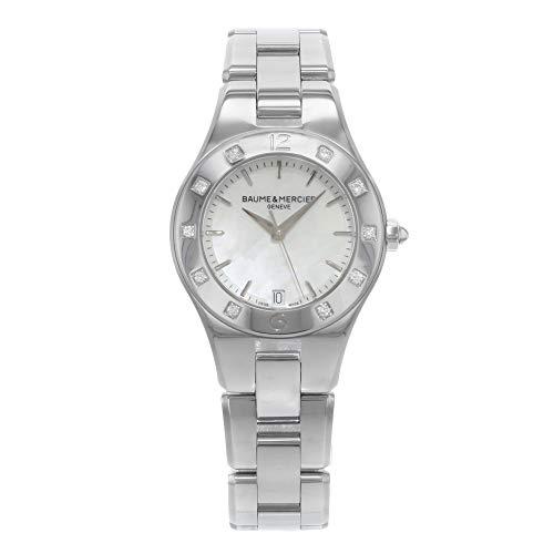 Baume & Mercier Linea Quartz Female Watch MOA10071 (Certified Pre-Owned) (Linea Womens Watch)