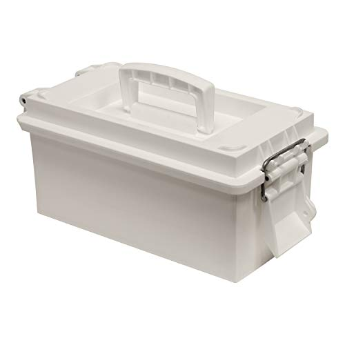 Wise Outdoors 5601-40 Small Utility Dry Box, White
