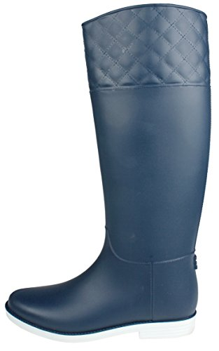 Jjf Zapatos Moda Mujer Con Cordones Faux Fur-lined Cremallera Lateral Hebilla Winter Rain Botines Nvyjly