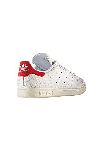 Sneaker Donna Adidas Stan Smith Bianca / Bianca-rossa