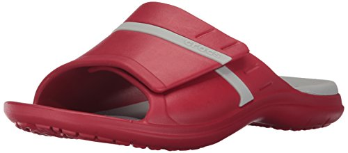 crocs Unisex Adult MODI Sport Slide Pepper/Pearl White
