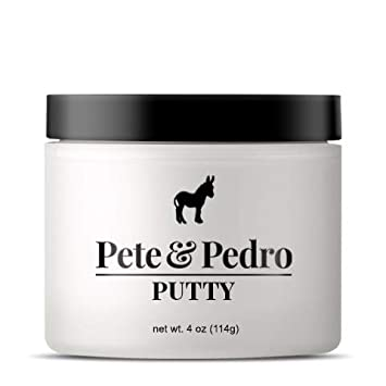 Pete and Pedro Putty XL – Hair Putty for Men with Strong Hold and Matte Finish Featured on Shark Tank