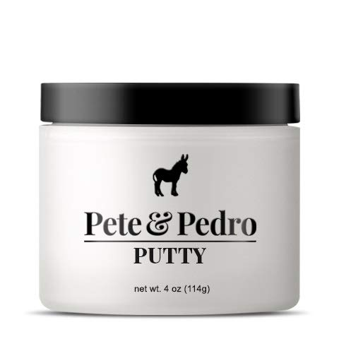 - Pete and Pedro Putty XL - Hair Putty for Men with Strong Hold and Matte Finish