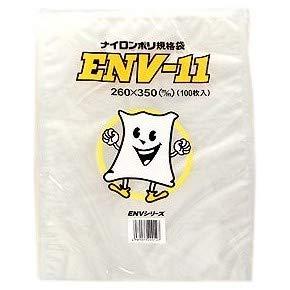 ナイロンポリ規格袋 ENV-4 140×200mm 4000枚 B06Y64TP2V