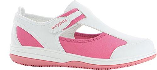 OXYPAS Candy - Calzado de protección Mujer Pink (Fux - Fuxia)