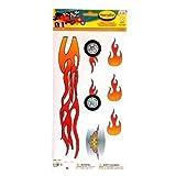 PlasmaCar Sticker Set - Flames