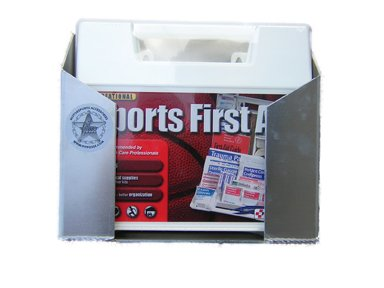 Pit Posse 591 First Aid Kit Wall Mounted Aluminum Holder Enclosed Race Trailer Shop Garage Storage Organizer