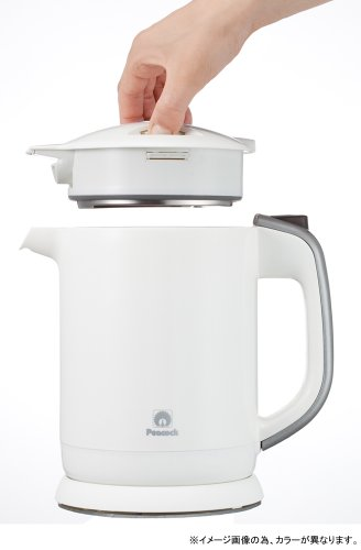 photo Wallpaper of Peacock thermos co.-Peacock [detachable Upper Lid] Care Convenient Electric Kettle 0.8 L-Black