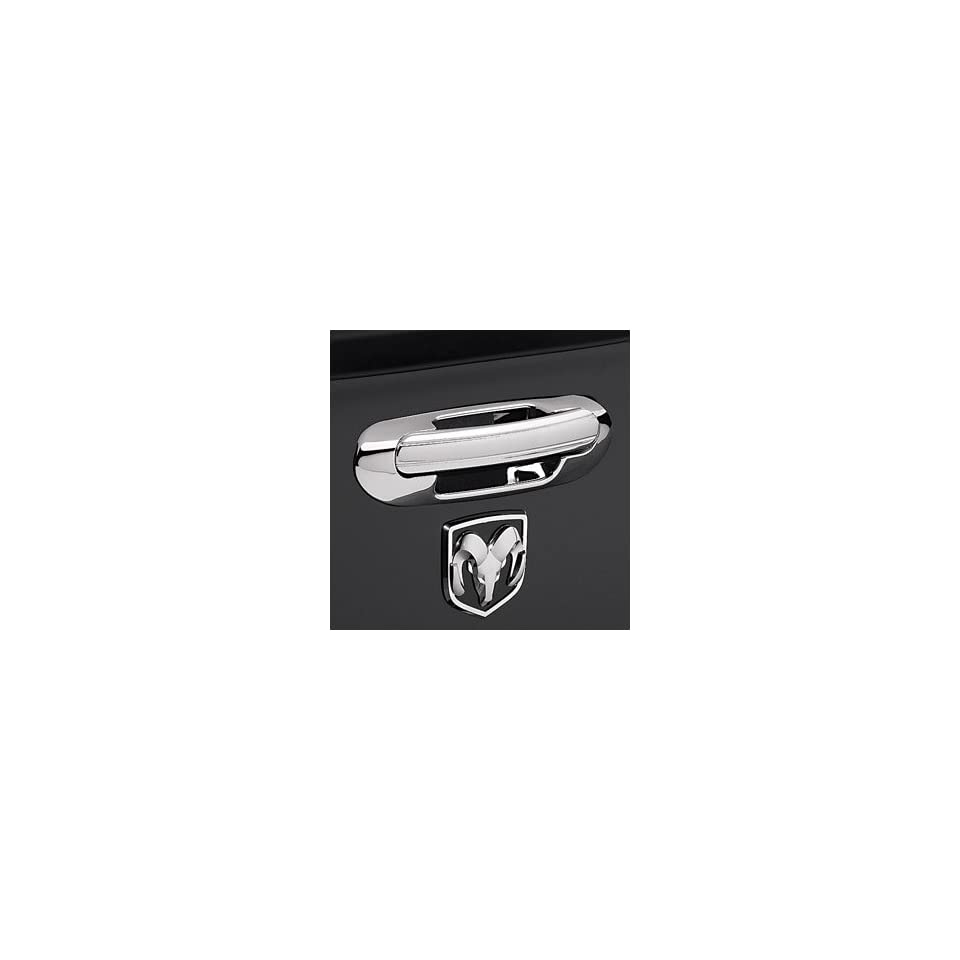Chrome Trim Tailgate Handle for Dodge Ram Truck 2010   2012