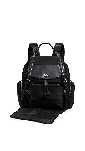 9fc6e6e556dd MICHAEL Michael Kors Women's Mott Diaper Bag Backpack, Black, One Size