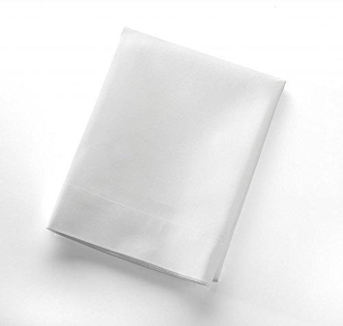 Set of 6 White Pillowcases 300 Thread Count 100% Cotton Luxu
