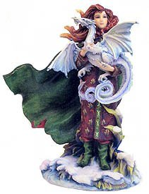 Pacific Trading Release Dreams Fairy Holding Dragon Figurine 7229 Statue by Jody Bergsma New Gift (Dream Fairy Figurine)