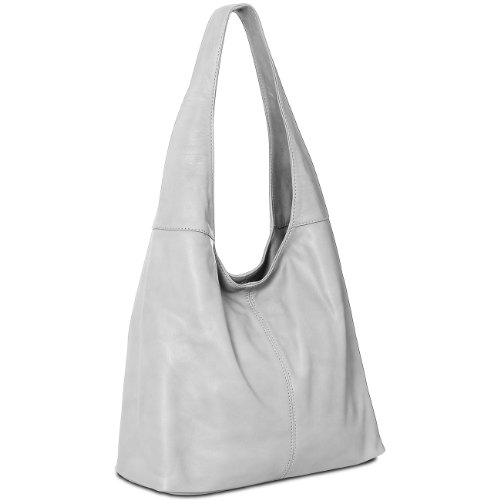 grey Bag Leather TL610 Womens made Light Handbag many Nappa Shoulder CASPAR Shopper colours Tote from Soft xSZBHnqt