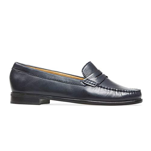 Dal Van Pelle Fit Mocassino Larga Midnight Donna Leather In Ee Hampden Cqdarq